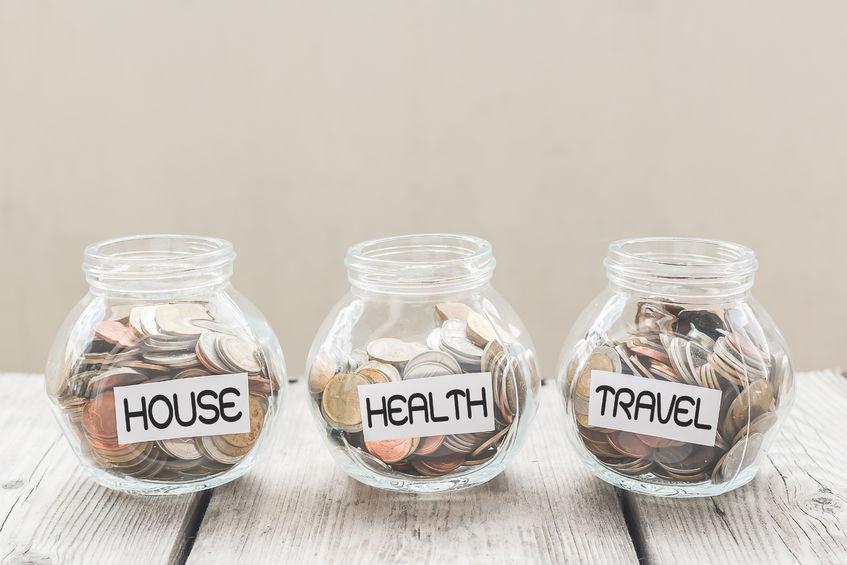 Creating a budget and saving